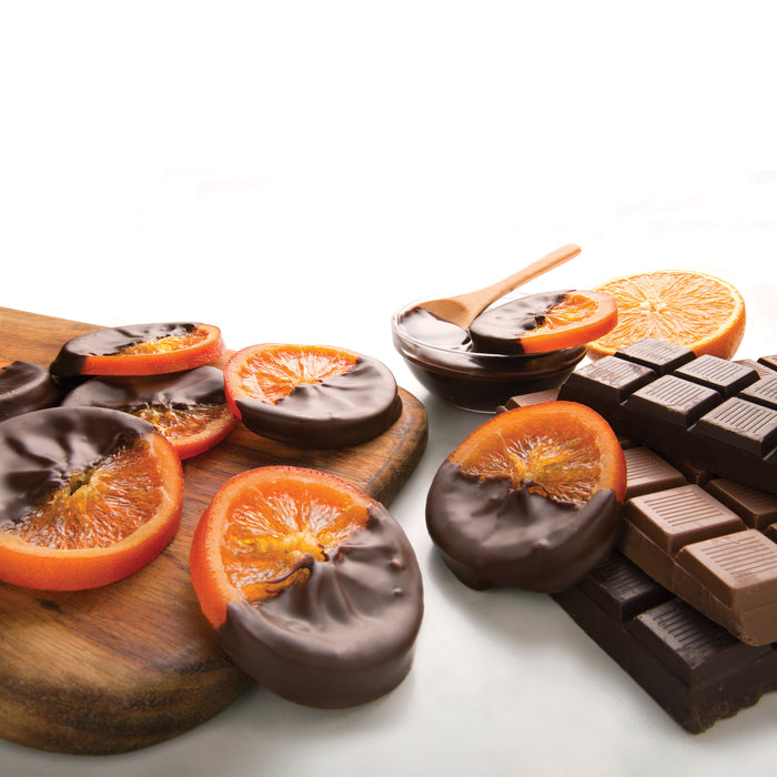Torn Ranch Chocolate Dipped Orange Slices Tin