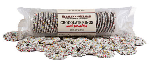 Hermann the German Nonpareils Chocolate Rings - European Deli