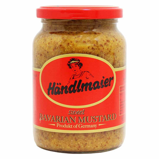 Handlmaier Sweet Bavarian Mustard is Bavaria's number 1 best selling sweet mustard.