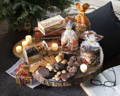 Lebkuchen Schmidt SWEET TEMPTATION contains 6 types of specialty biscuits