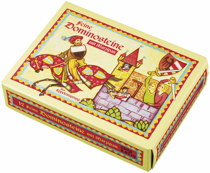Lebkuchen Schmidt DOMINOES contains Dominoes without Marzipan