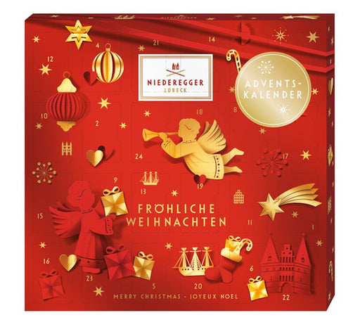 Niederegger Marzipan Red Glamour Mini Advent Calendar