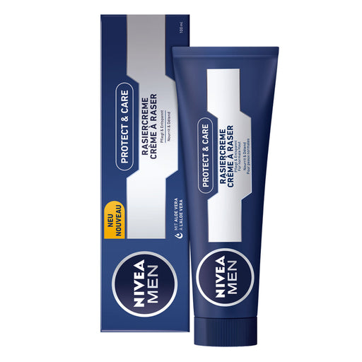 Nivea Men Protecting Shaving Cream Tube is a rich creme is made with ingredients that make shaving as kind to your skin as possible.