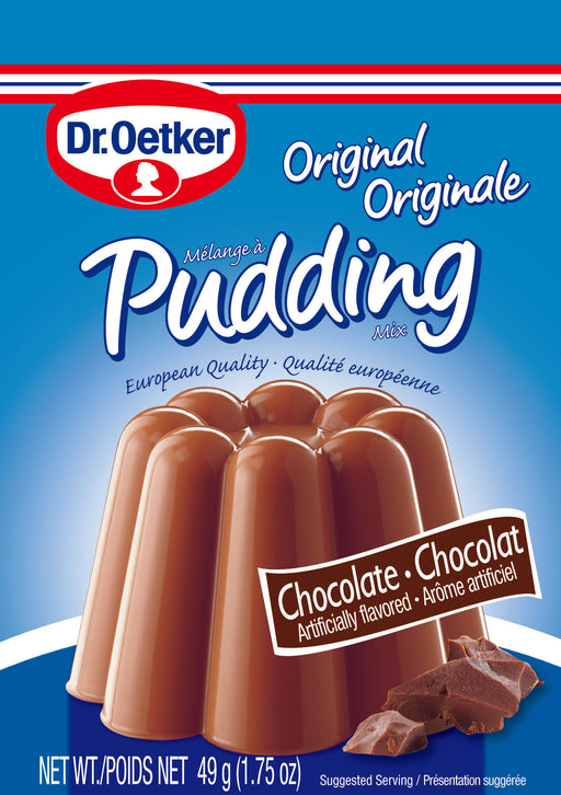 Dr Oetker Original Chocolate Pudding - 3 Pouch Pack - EuropeanDeli.com