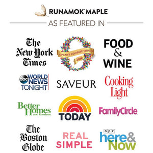 Runamok Maple Cinnamon & Vanilla Infused Organic Maple Syrup