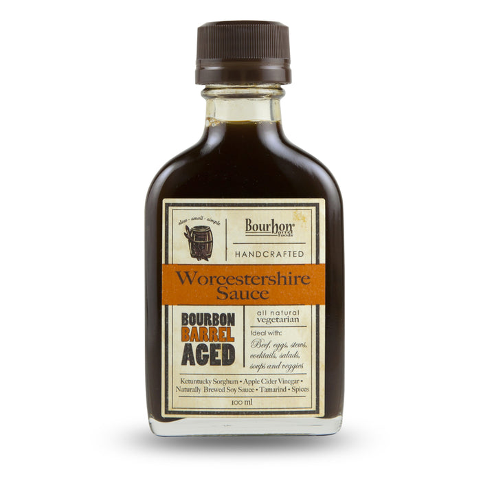 Bourbon Barrel Aged Worcestershire sauce is a unique take on the traditional all-purpose seasoning.
