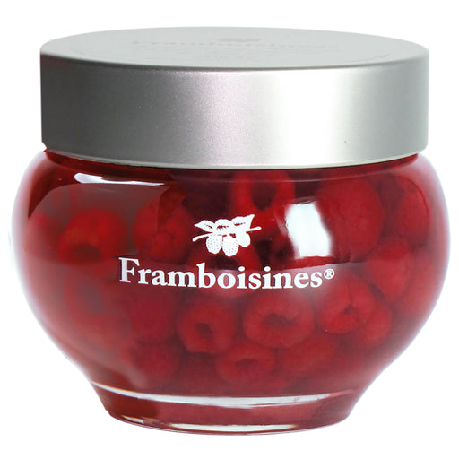 Peureux Framboisines Raspberries in Liqueur in Glass Jar - EuropeanDeli.com
