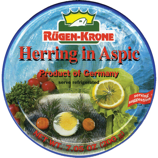 RugenFisch Herring In Aspic is of highest quality.