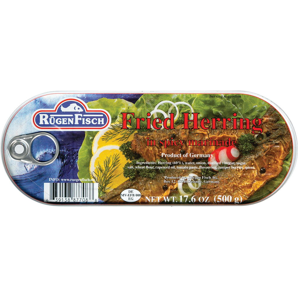 RugenFisch Fried Herring In Marinade is of highest quality