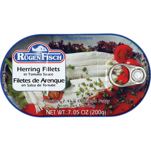 RugenFisch Herring In Tomato Sauce is of highest quality.