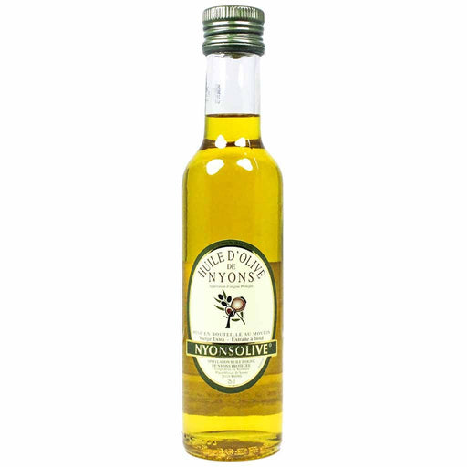 Nyonsolive Nyons Extra Virgin Olive Oil AOC is an ultra-smooth olive oil made from the Nyons olive