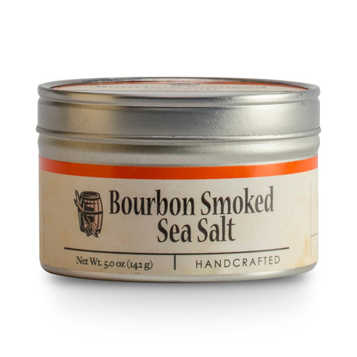 Bourbon Barrel Bourbon Smoked Sea Salt is pure, solar-evaporated and domestically harvested from the Pacific Ocean.