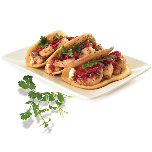 Elki Caramelized Red Pepper Crostini Spread is so loaded with caramelized red peppers, this flavorful treat will have you hooked