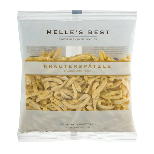 Melle's Best Spaetzle with Herbs - European Deli