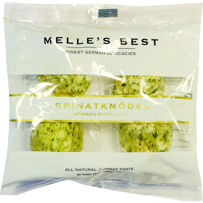 Melle's Best Spinach Dumplings are a food specialty from the region of Southern Tyrol