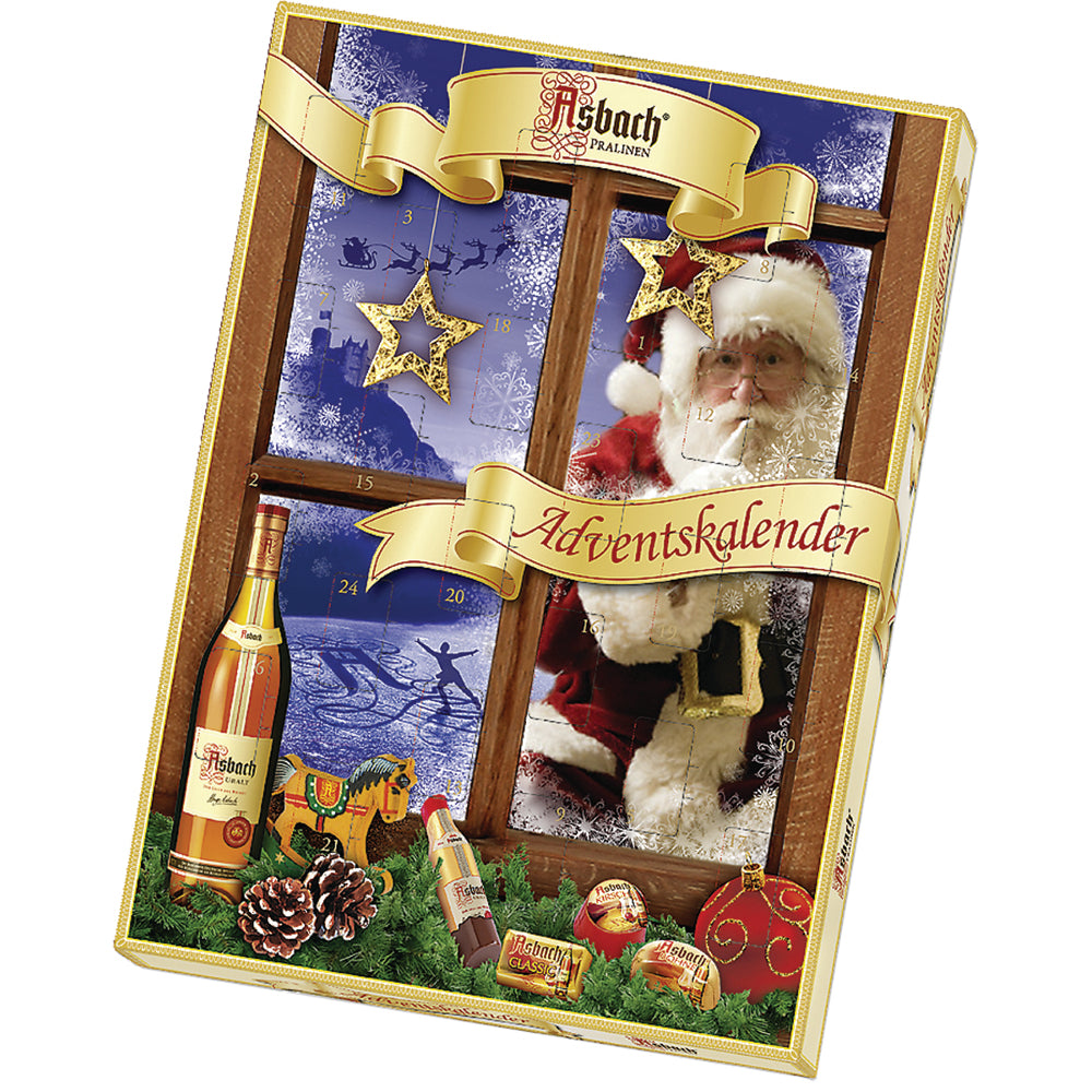 Asbach Santa Advent Calendar - European Deli