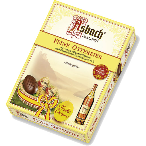 Asbach Chocolate Eggs in Gift Box - 10 pieces - EuropeanDeli.com