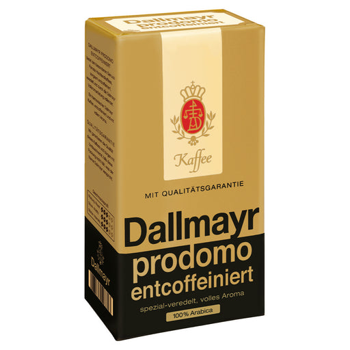 Dallmayr Prodomo Decaffeinated Ground Coffee