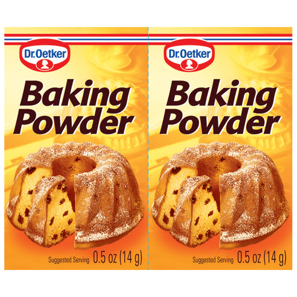 Dr Oetker Baking Powder is a versatile raising agent used for baking cakes, scones, pastries and puddings, helping you to achieve perfect results every time.