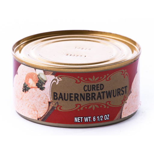 "Geier's Cured Bauernbratwurst is also called Bauernwurst or ""farmer sausage""."