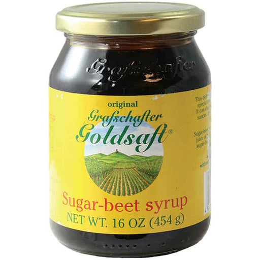 Grafschafter Goldsaft Sugar Beet Syrup is made from the pure juice of freshly harvested sugar beets, with no chemical additives