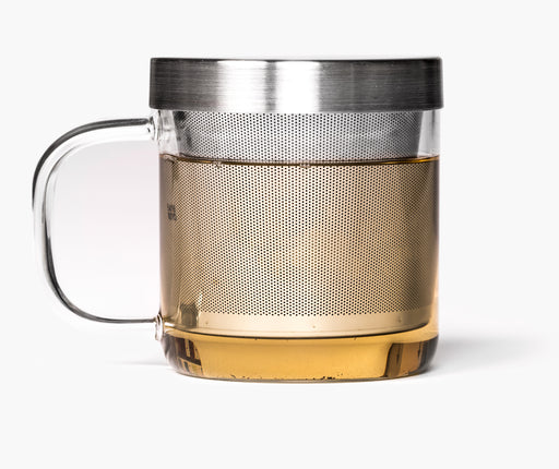 Paper and Tea Glass Brewing Mug - EuropeanDeli.com