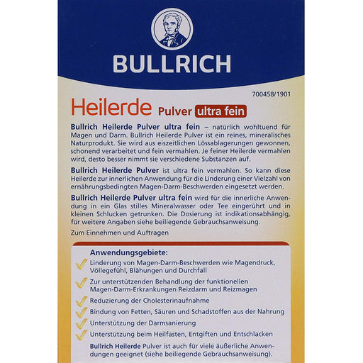 Bullrich Ultra Fine Healing Clay Powder - EuropeanDeli.com