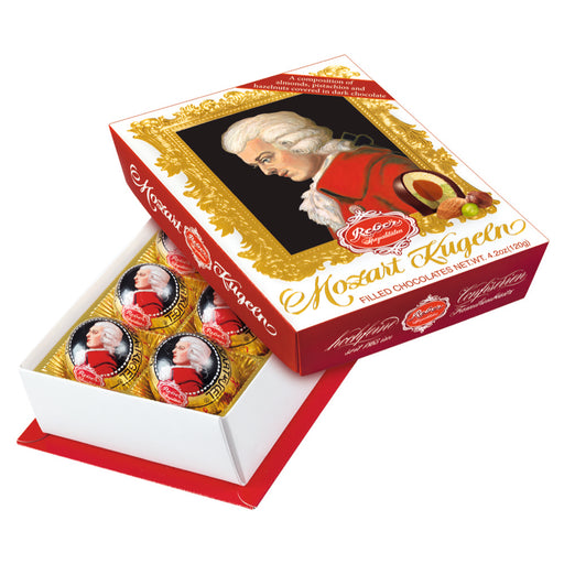 Reber Mozart Kugel in Portrait Gift Box - 6 pieces