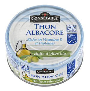 Connetable Albacore Tuna in organic EVOO