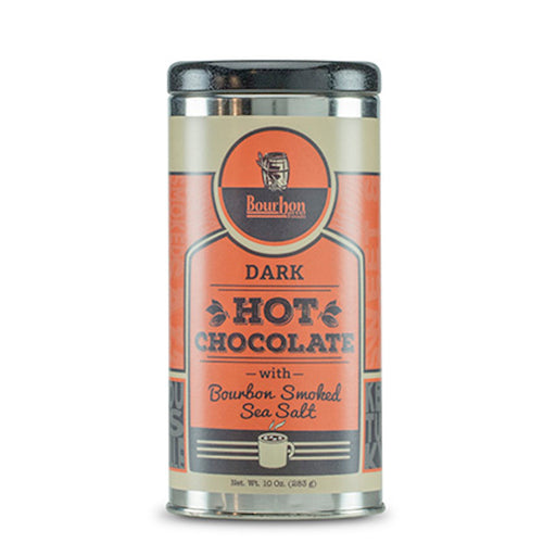 Bourbon Barrel Dark Hot Chocolate is a delicious, savory hot chocolate mix created by both Bourbon Barrel Foods and Cellar Door Chocolates