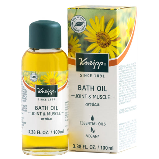 Kneipp Joint & Muscle Arnica Bath Oil - EuropeanDeli.com