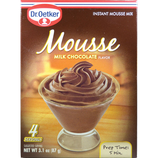 Dr Oetker Milk Chocolate Mousse Instant Dessert Mix - European Deli