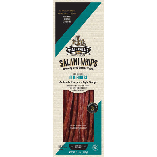 Piller's Black Kassel Old Forest Salami Whips - EuropeanDeli.com