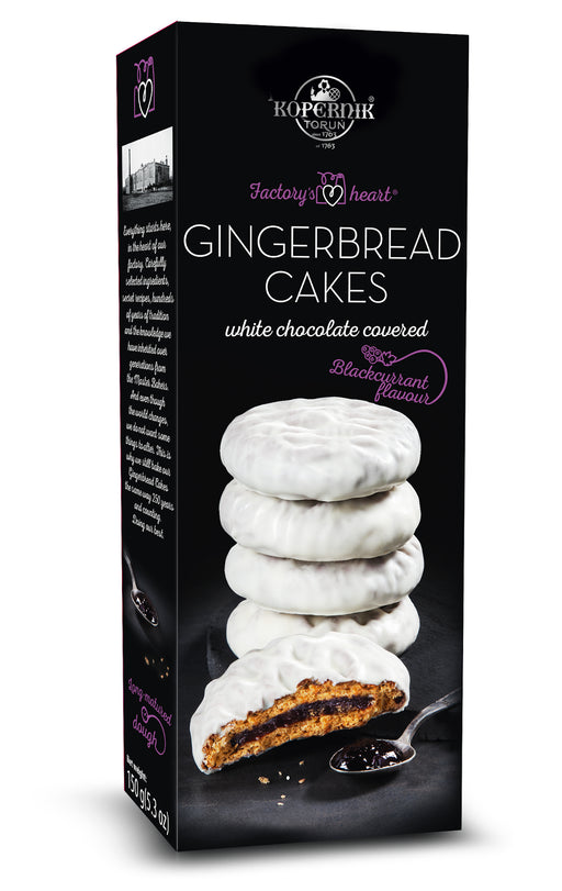 Kopernik Torunskie Pierniki Black Currant Gingerbread Cakes - European Deli