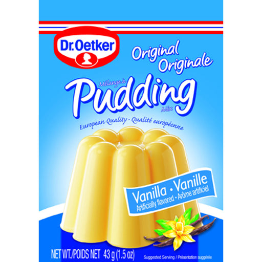 Dr Oetker Original Vanilla Pudding - 3 Pack is the traditional creamy Dr. Oetker Vanilla Cooked Pudding mix, which is perfect for homemade pies, tarts or just on its own as a snack