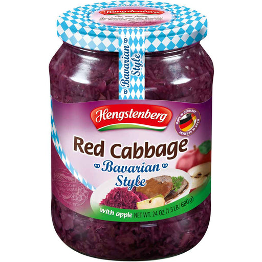 Hengstenberg Bavarian Red Cabbage & Apple are a harmonious duo