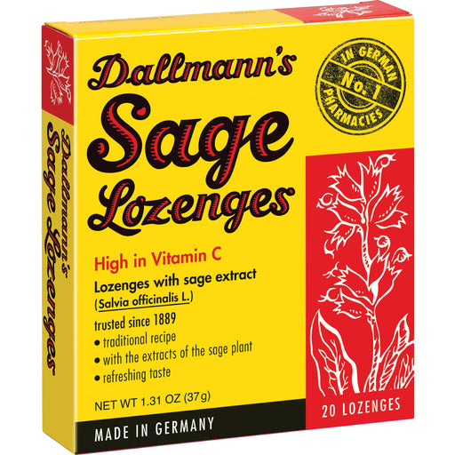 Dallmann's Sage Lozenges - European Deli