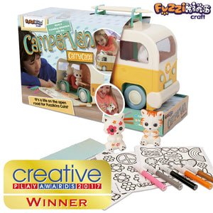 Fuzzikins Campervan Carrycase wins a Creative Play Award!