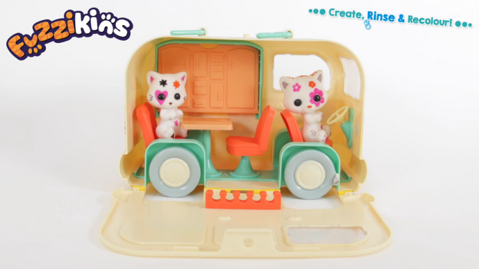 The Fuzzikins Campervan Carrycase