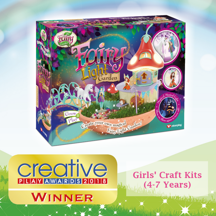 Fairy Light Garden wins a Creative Play Award!