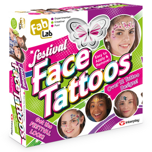 Introducing the NEW FabLab Festival Face Tattoos and Tattoo Jewellery