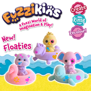 NEW Fuzzikins Floaties!