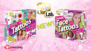 The NEW FabLab Festival Face Tattoos & Glitter Tattoos