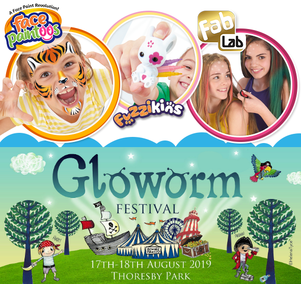 Interplay Creative Play Zones Announced for Gloworm Festival 2019!