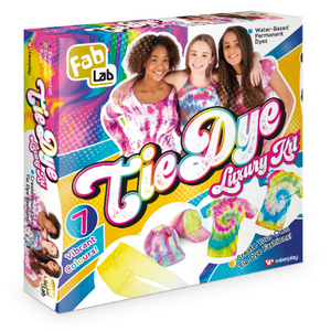 FabLab Tie Dye Luxury kit is now available!