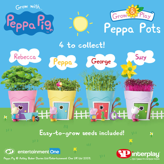 Interplay launches Peppa Pig Grow & Play brand!