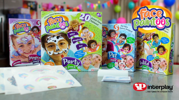 Bring your party to life with Face Paintoos!