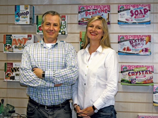 Ross Ainsworth, Managing Director & Nancy Davies, Sales Director