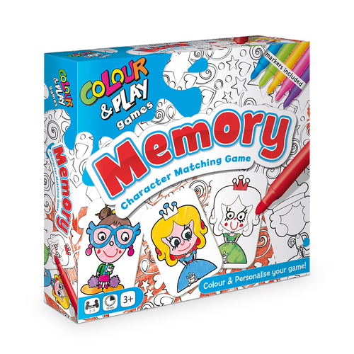 Colour & Play - Memory Game