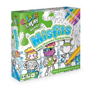 Colour & Play - Misfits Game